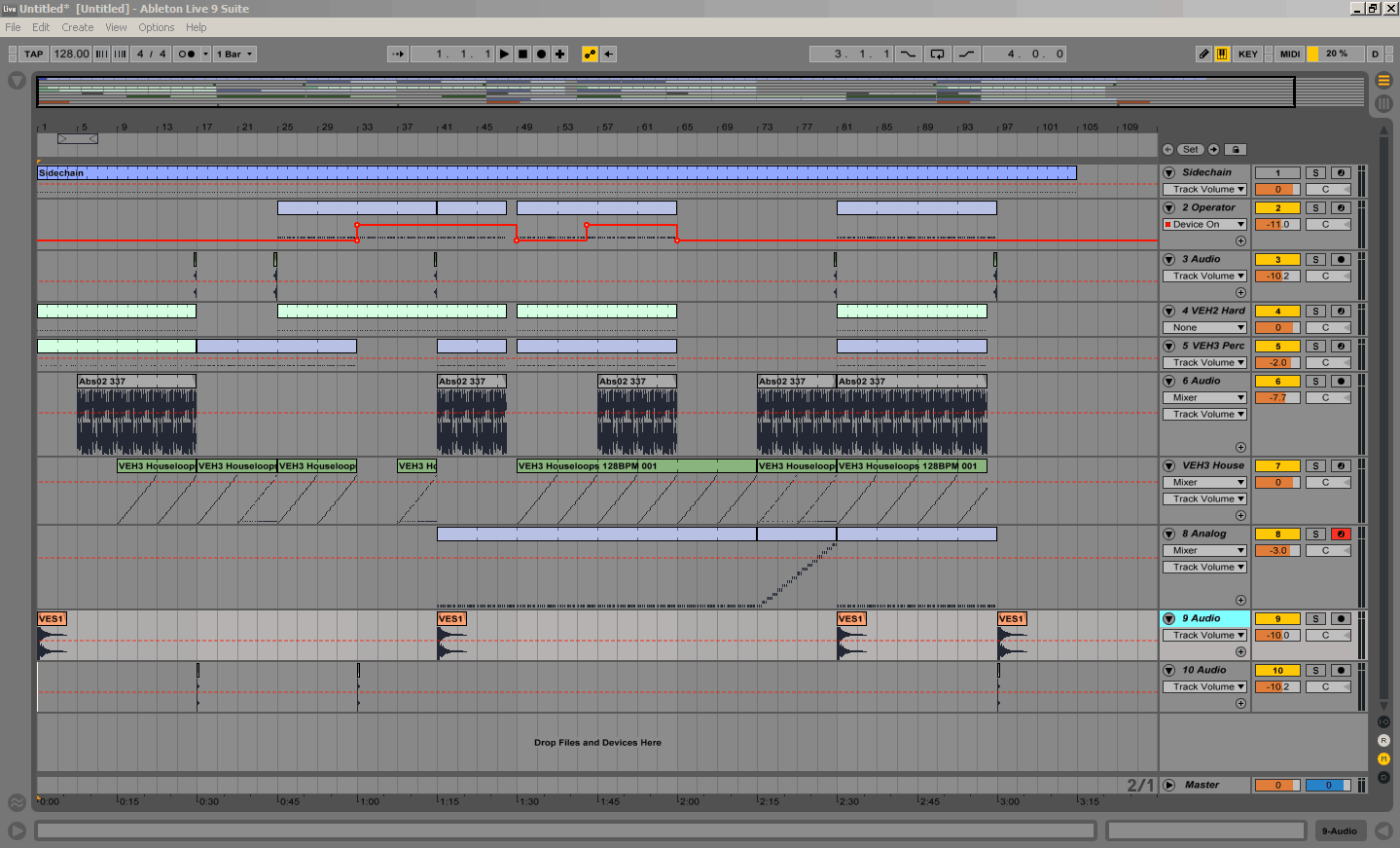 FREE TEMPLATES PROJECTS FOR ABLETON LIVE