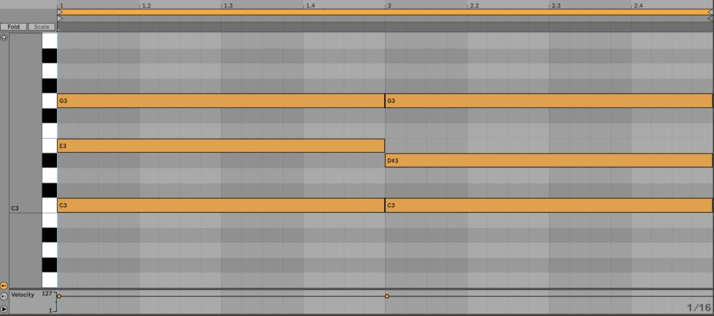 Major vs Minor Chords in Ableton Live 11