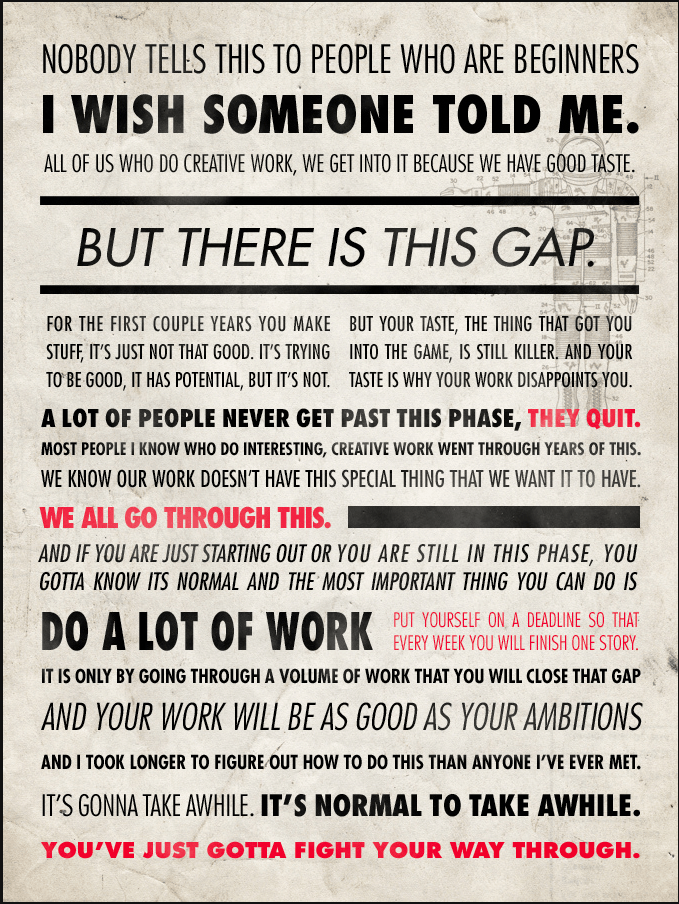 Ira Glass Quote