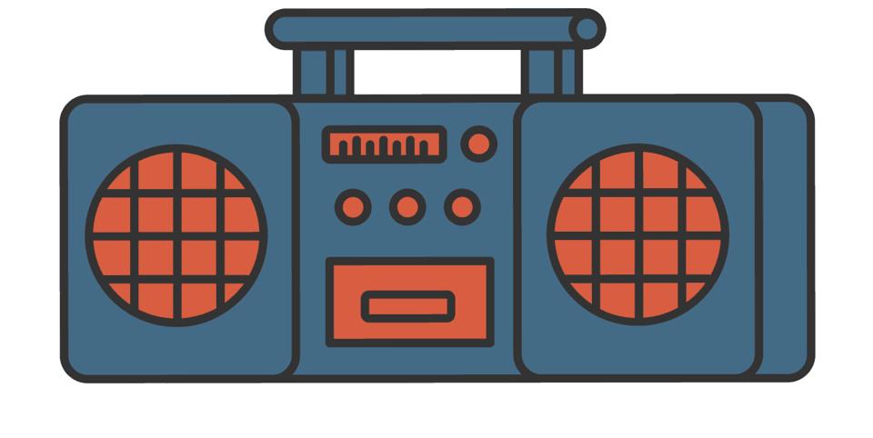 Boombox Graphic