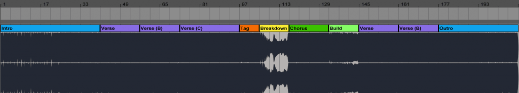 Dinka – Elements Structure in Ableton Live