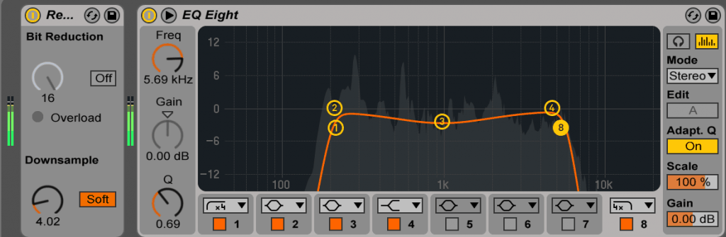 Redux and EQ Eight