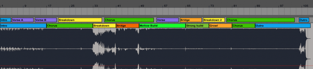 Mat Zo Flicker Remix Structure