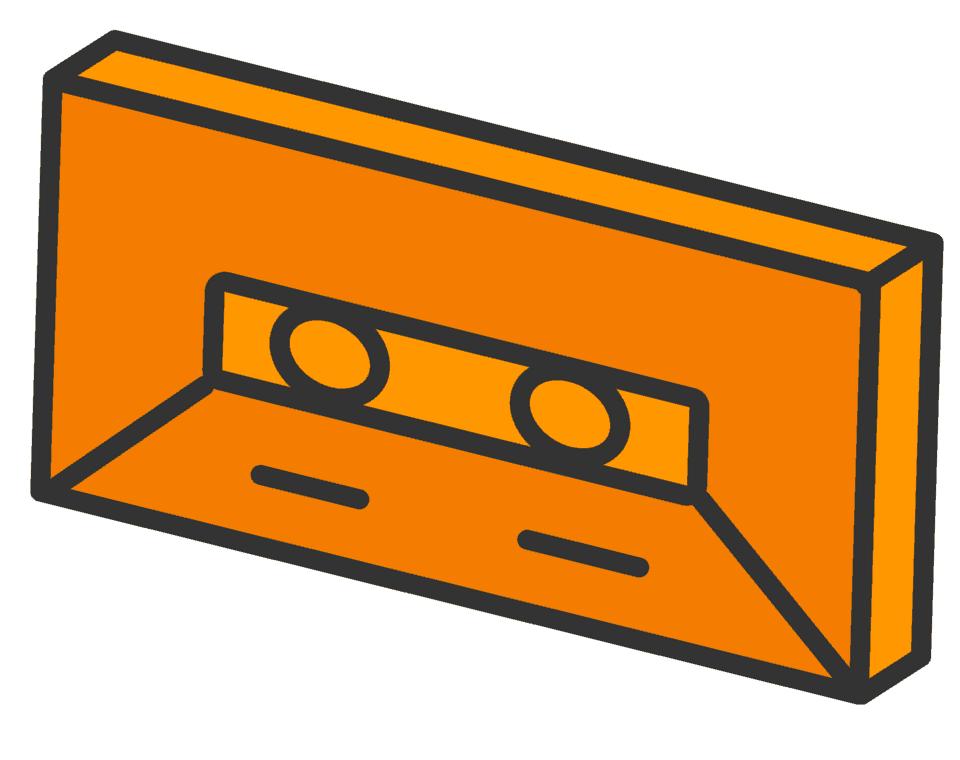 Cassette graphic