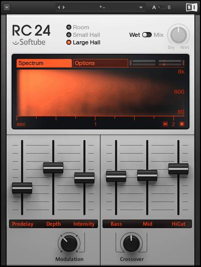 Native Instruments Softube RC24 Reverb