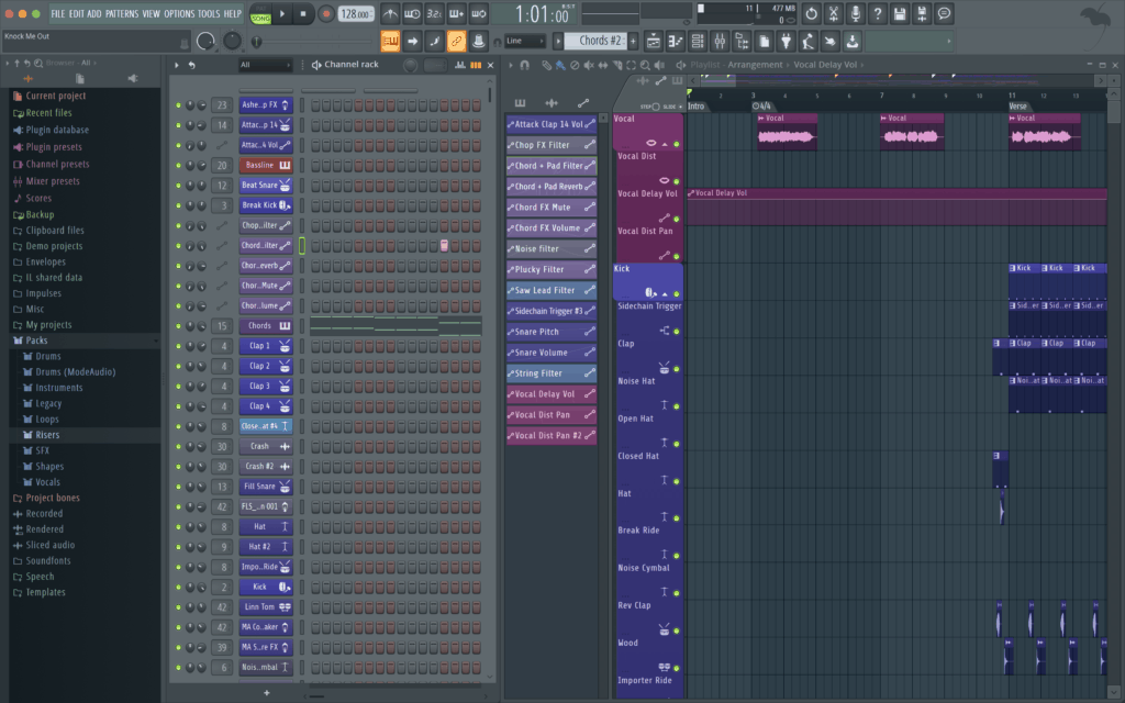 FL Studio Interface