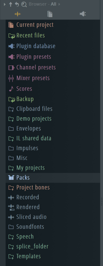 FL Studio Browser