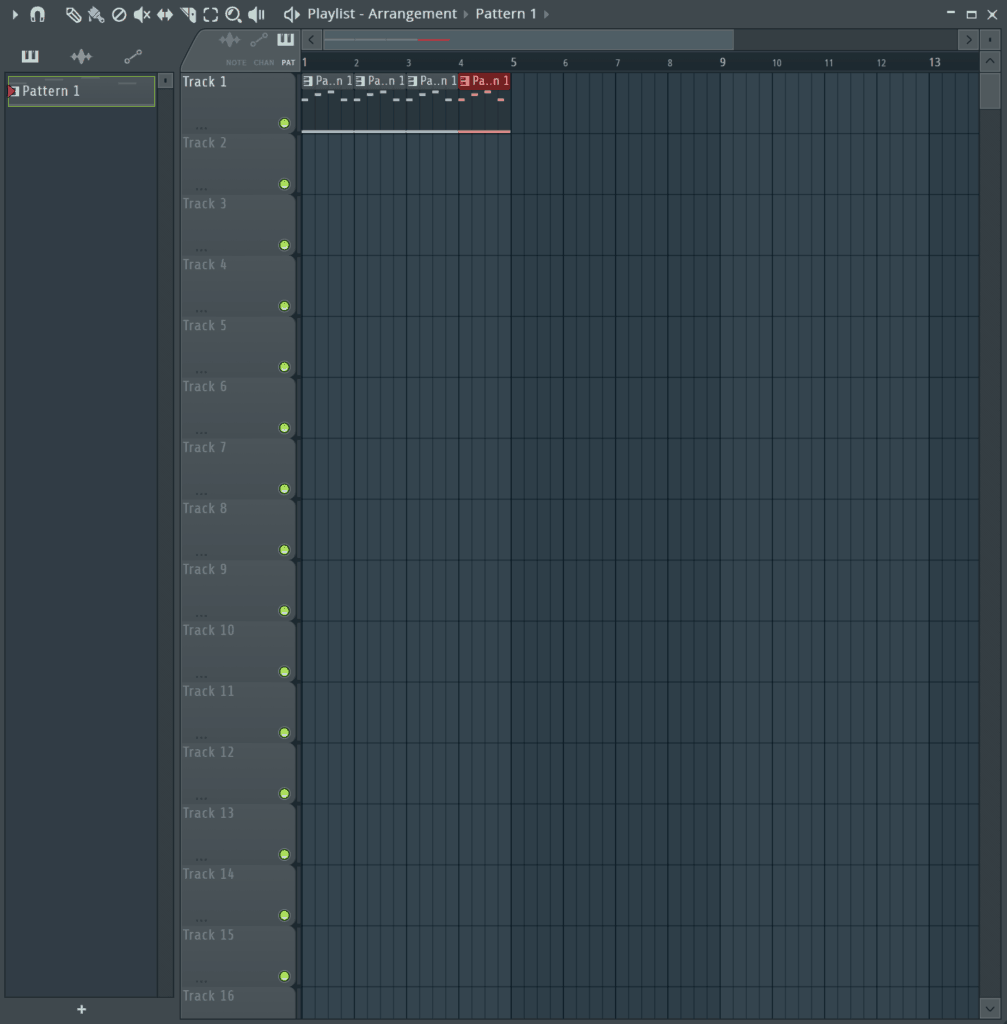 FL Studio Arrangement