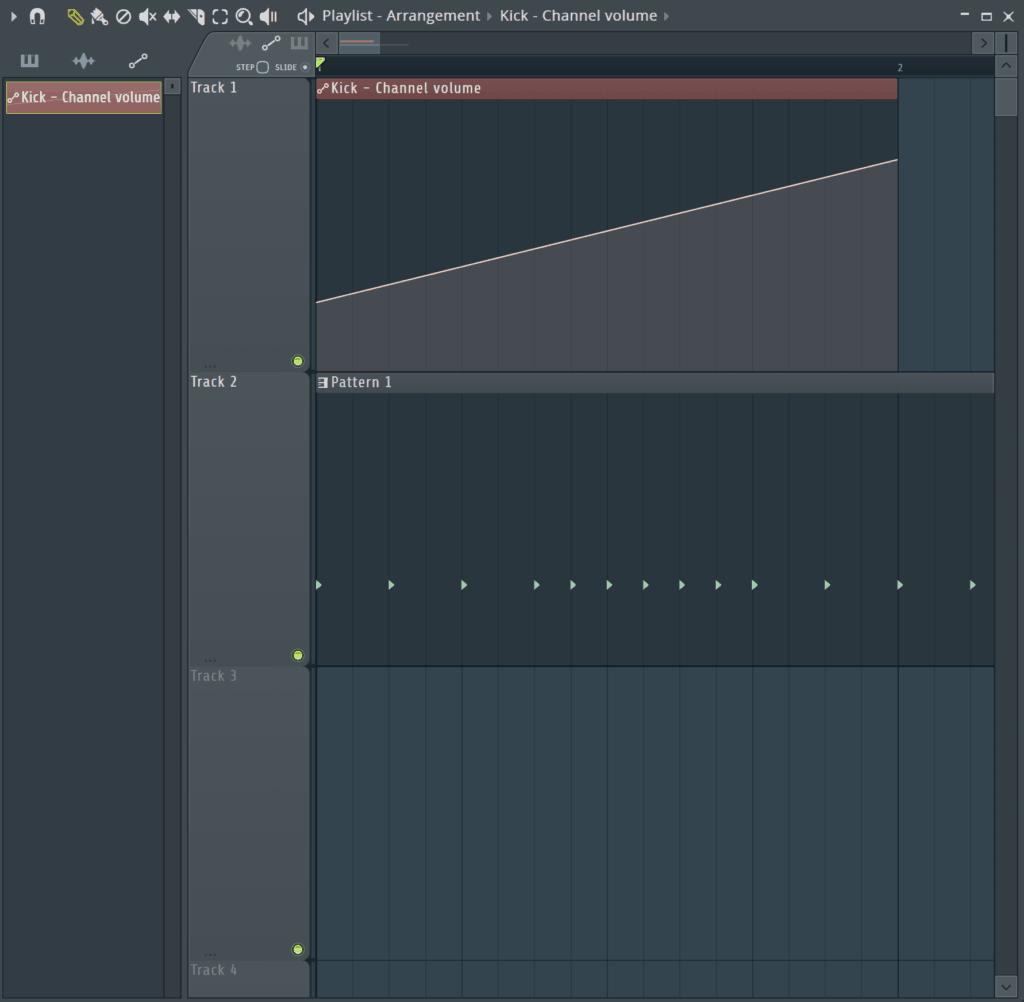 Automation on Kick in FL Studio