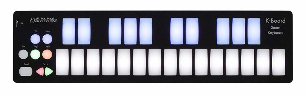 Keith McMillen Instruments K-Board MIDI Keyboard