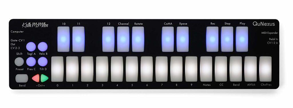 Keith McMillen Instruments QuNexus MIDI Keyboard