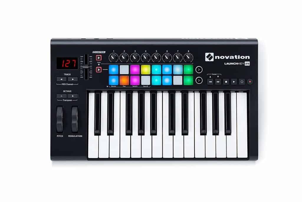 Novation Launchkey 25 MK2 MIDI Keyboard