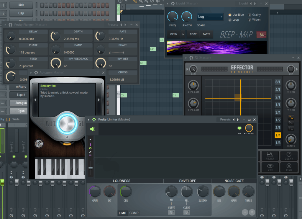 Some FL Studio Plugins