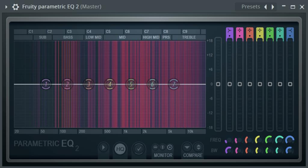 FL Studio Parametric EQ 2