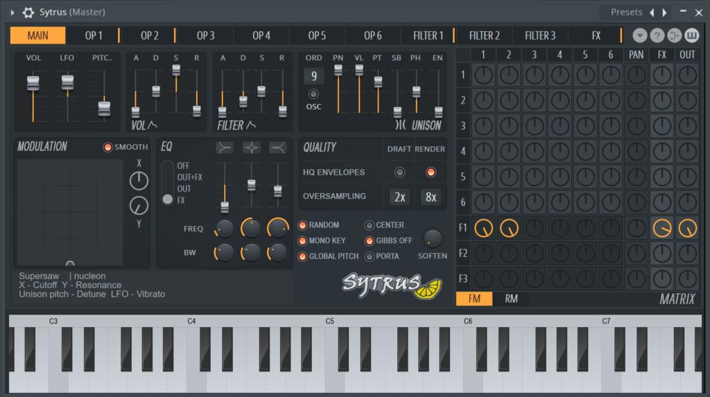 FL Studio Sytrus