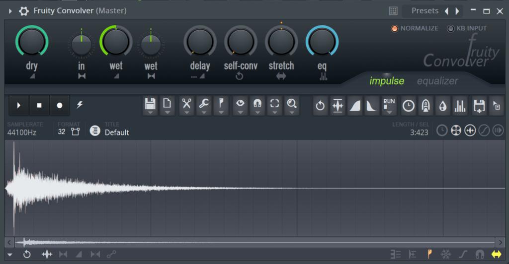 FL Studio Fruity Convolver