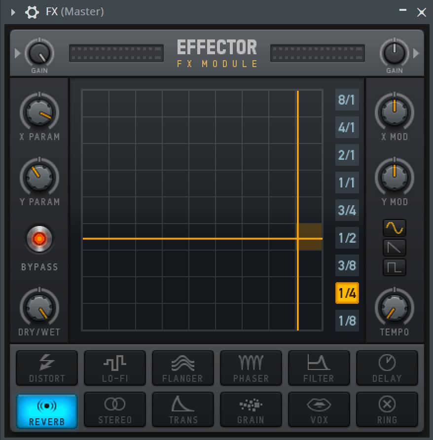 FL Studio Effector