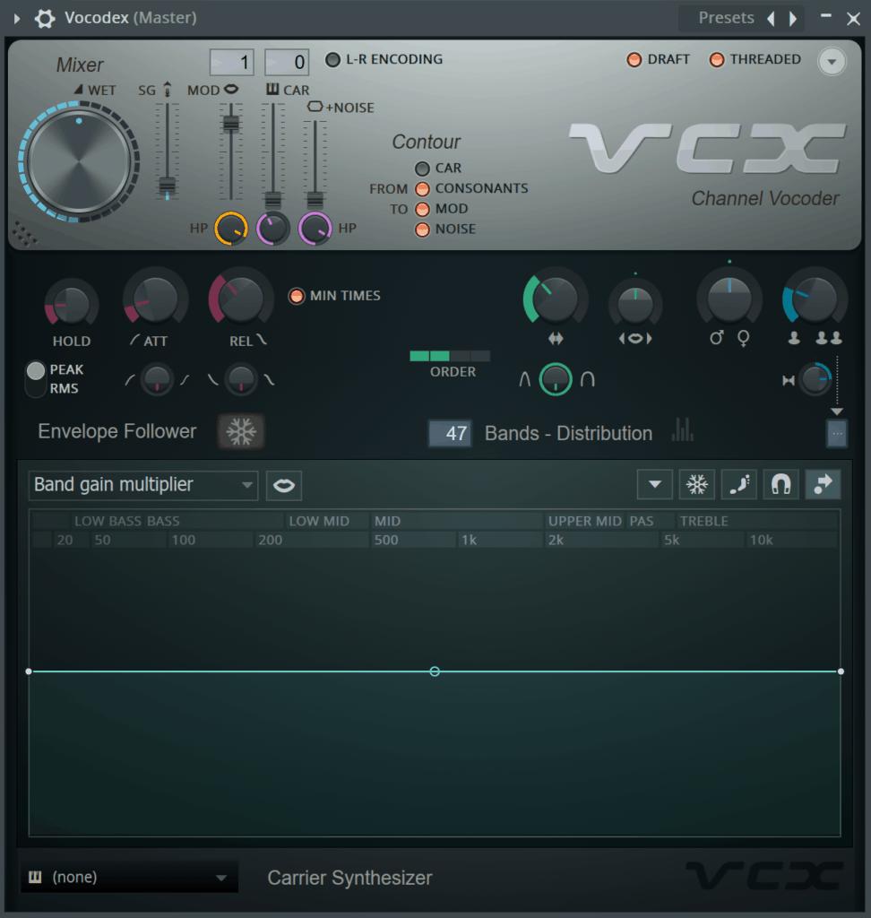 FL Studio Vocodex