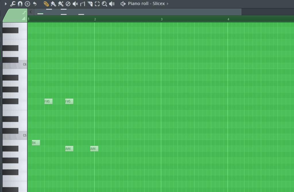 FL Studio Grid Colour