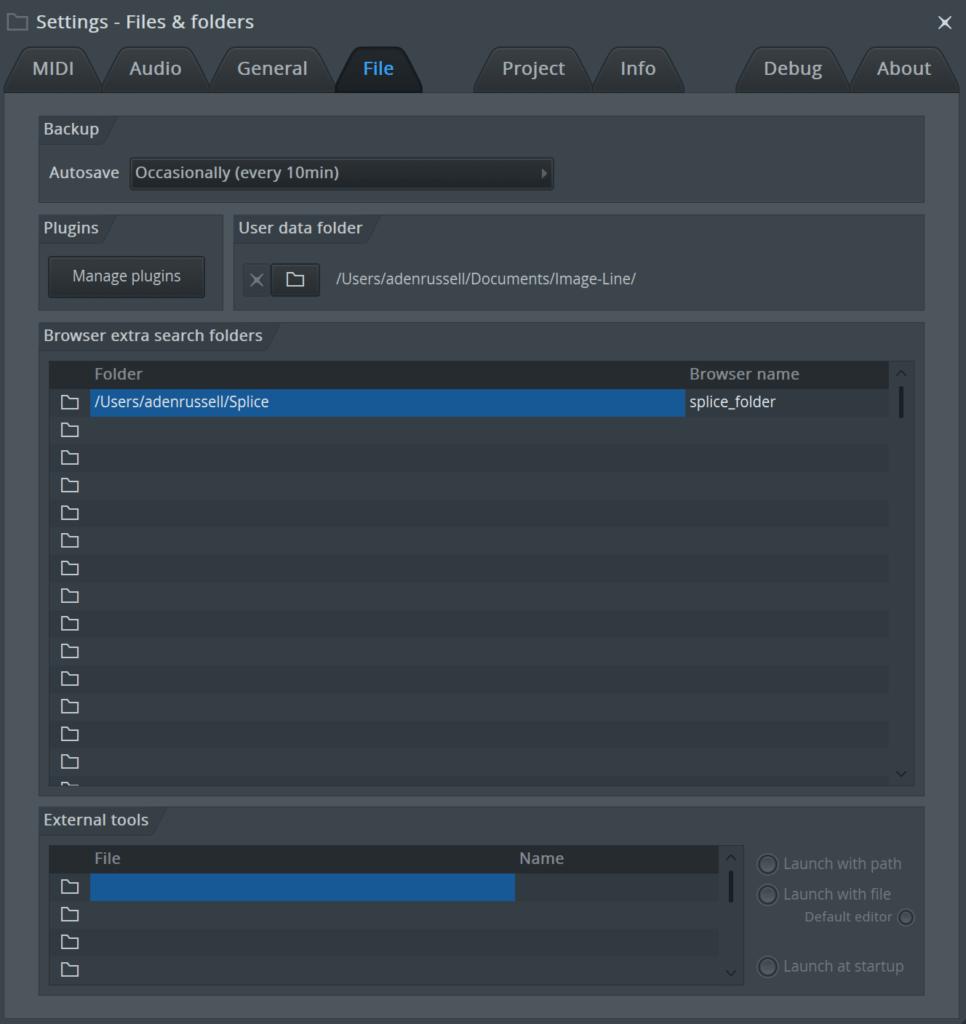 FL Studio Add Folders