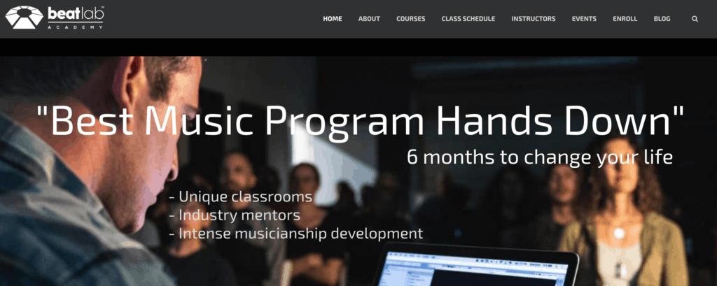 Beat Lab Website