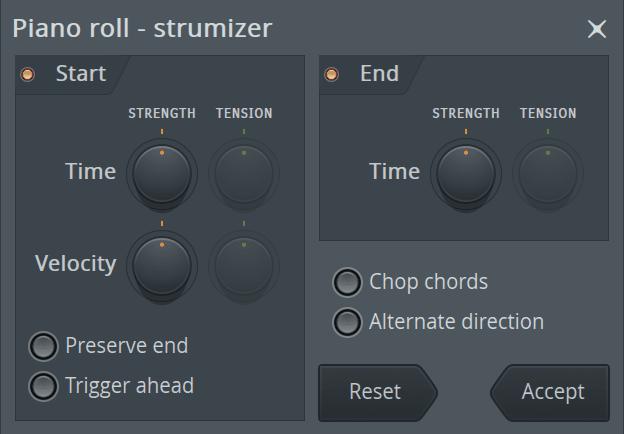 FL Studio Piano Roll Strumizer