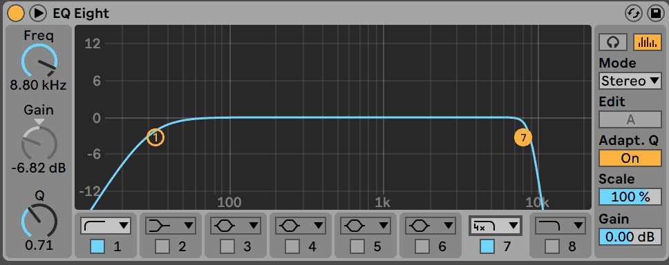 EQ Eight Filters