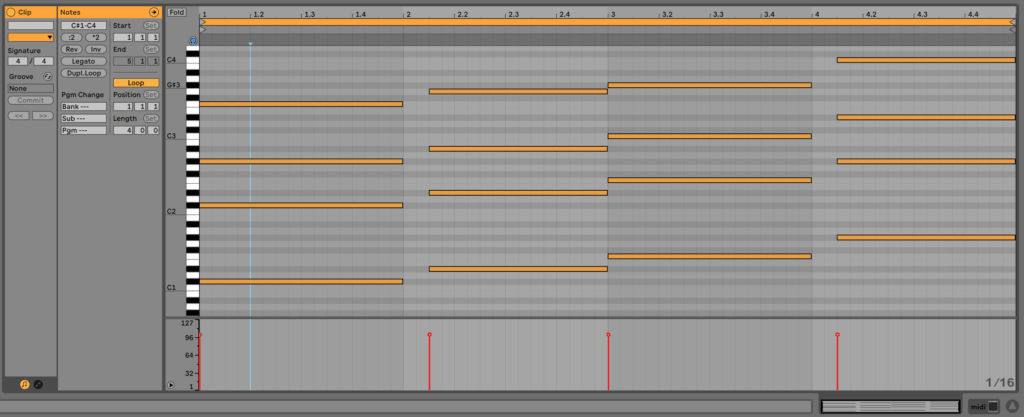 Chord Progression with New Voicing