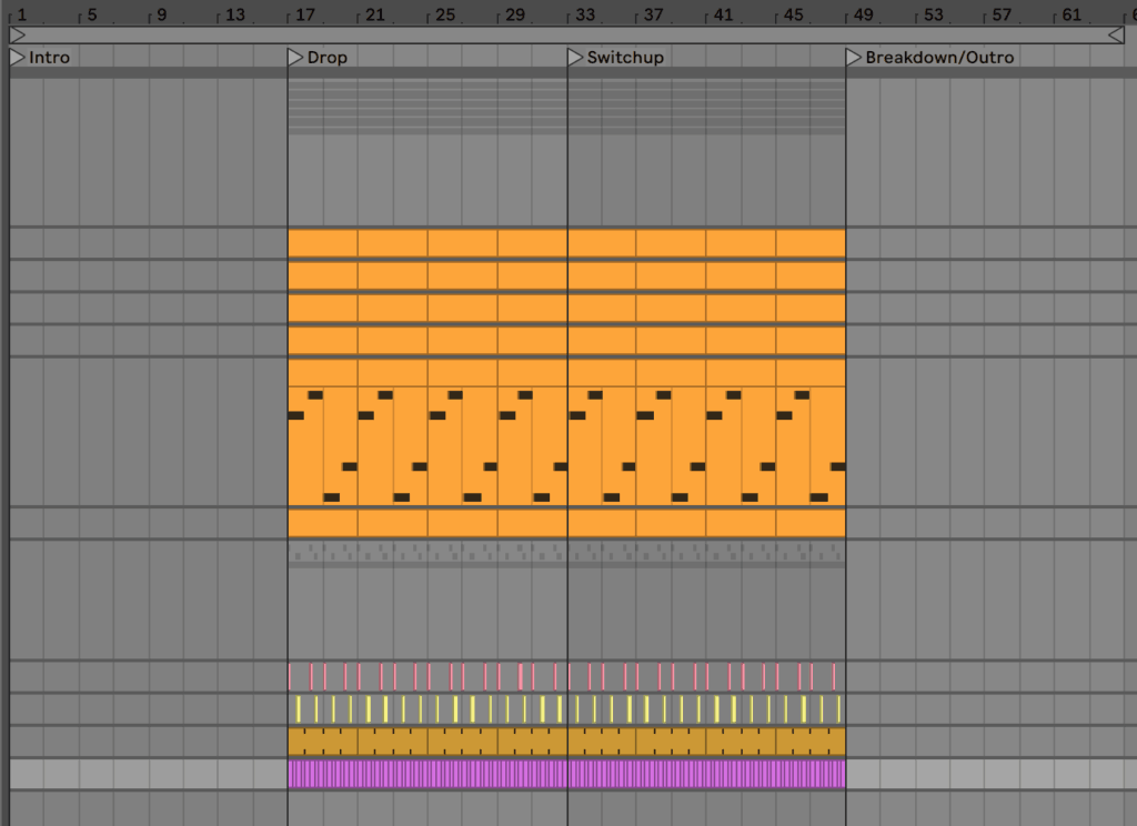 Full Structure of Future Bass Track