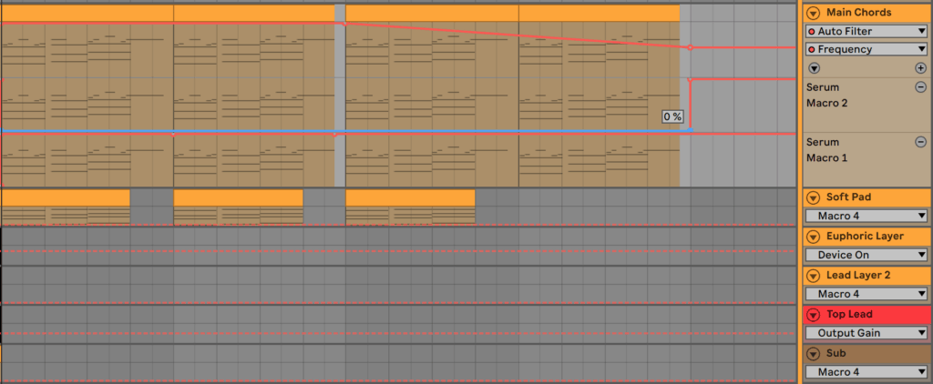 Macro and Filter Automations in Ableton Live