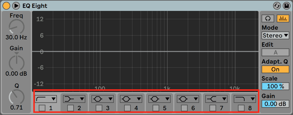 EQ Eight Bands