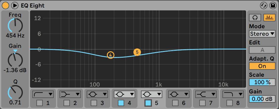 Chords EQ Cut