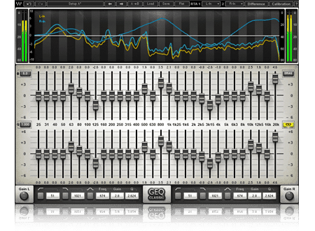 Waves GEQ Graphic EQ