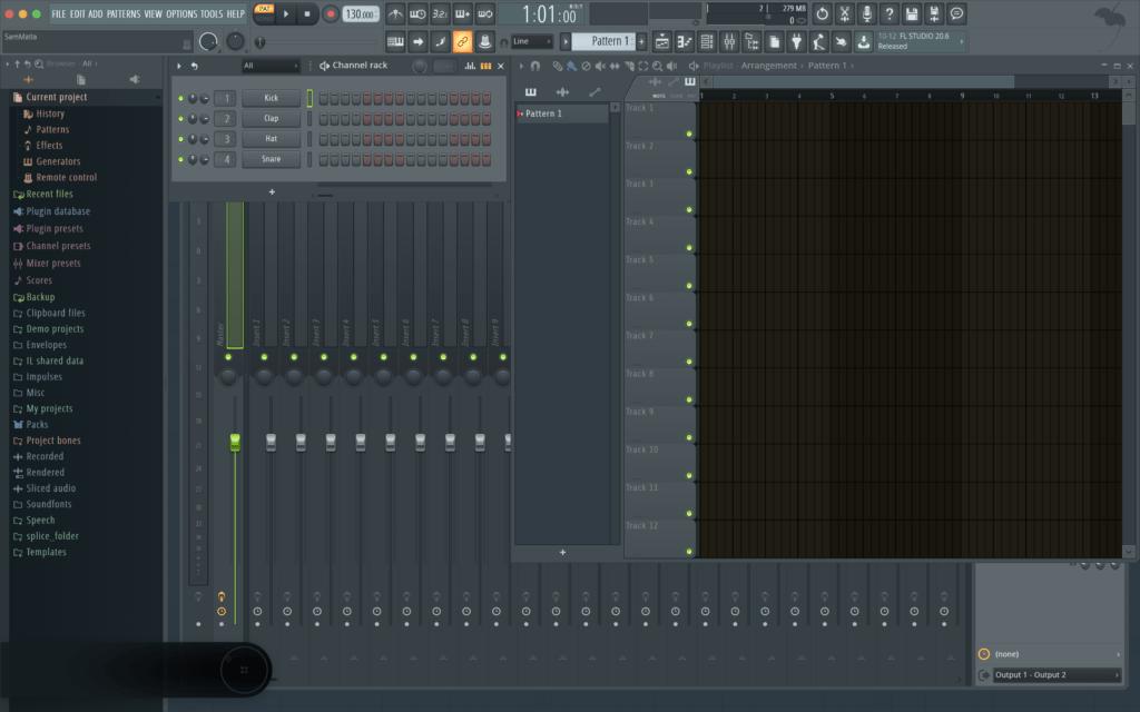 FL Studio User Interface