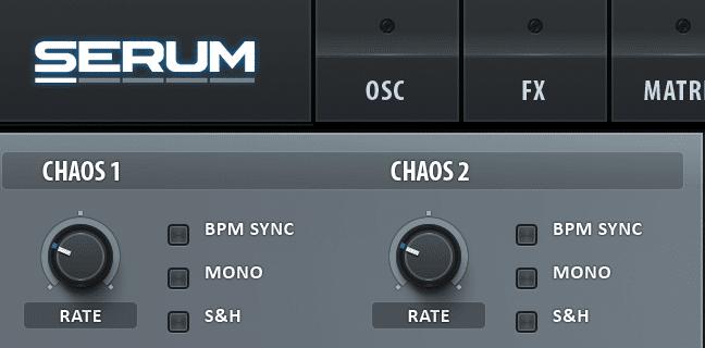 Xfer Serum Chaos Oscillators