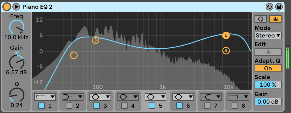EQ Eight Random Preset