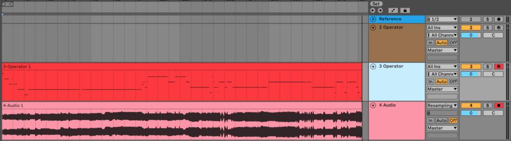 Ableton Live Resampling