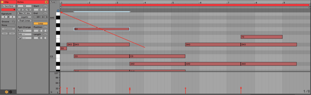 Ableton Live 10 MIDI Editor Preview