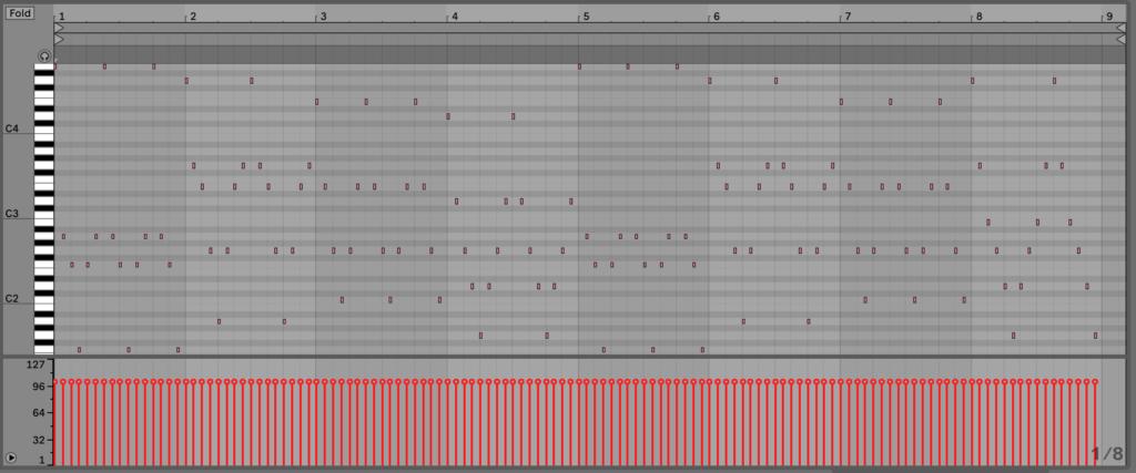 Ableton Live 10 Arpeggiator Record