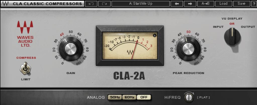 Waves CLA-2A Classic Compressor
