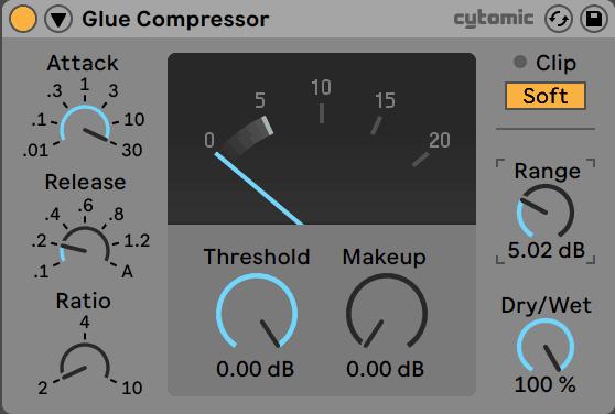 Glue Compressor - Range