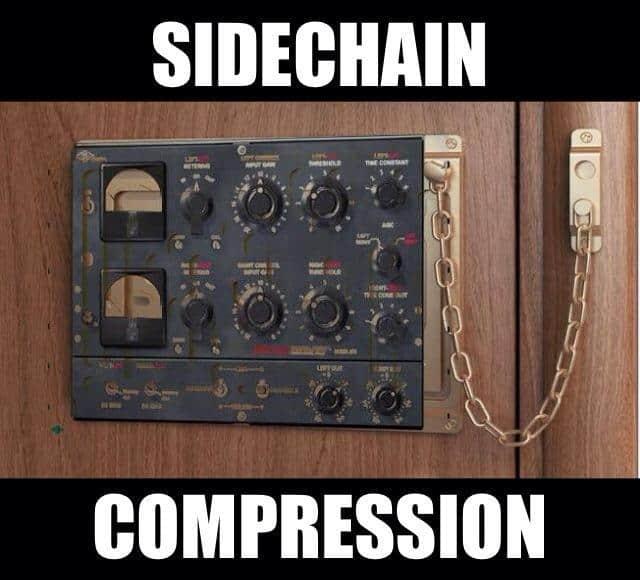 Sidechain Compression Door Lock Meme