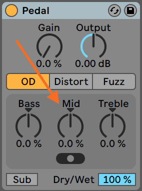Distortion Tone or EQ