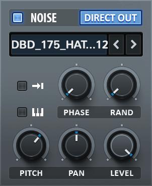 Xfer Serum Noise Oscillator