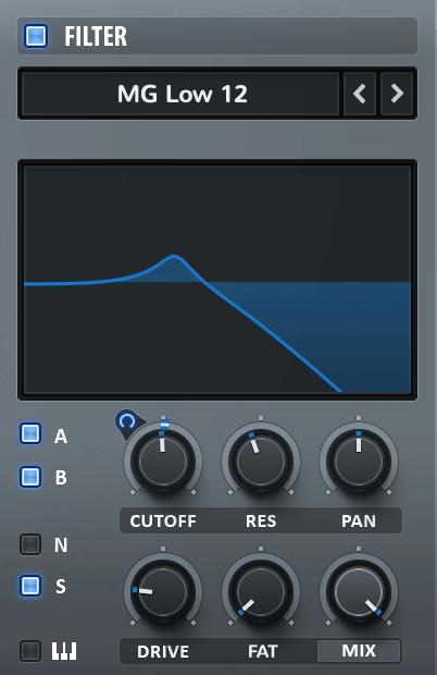 Xfer Serum Filter on Bass