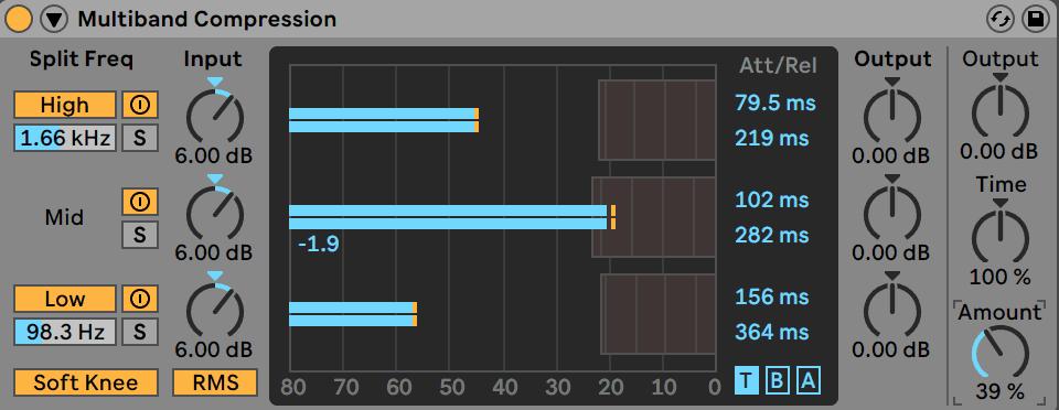 Multiband Compression Ableton Live