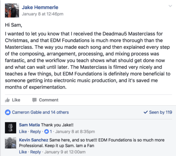 Jake Testimonial