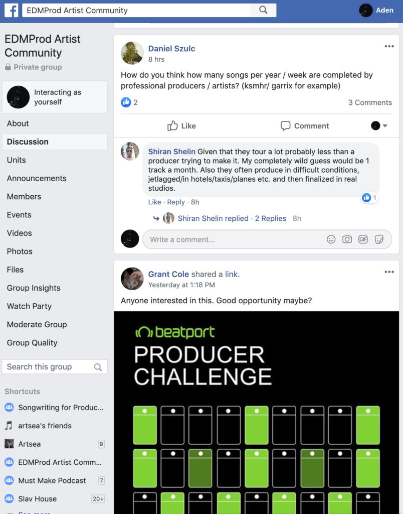 EDMProd Artist Community