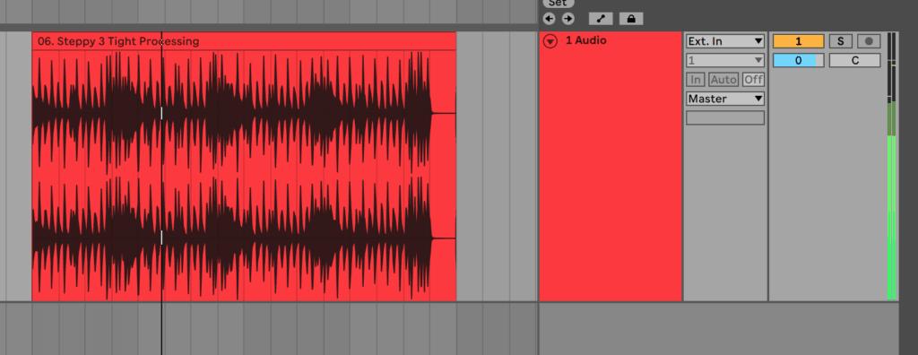 Ableton Live Audio Track