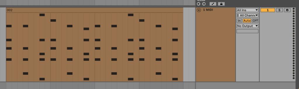 Ableton Live MIDI Track